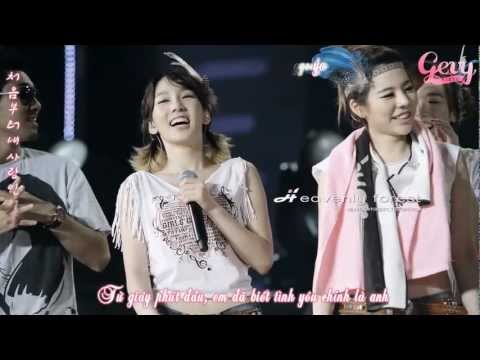 It Must Be Love - Taeyeon & Sunny [Vietsub + Rom + Hangul]