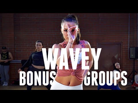 Wavey Bonus Groups - CliQ feat Alika | Brian Friedman Choreography | #TMillyTV