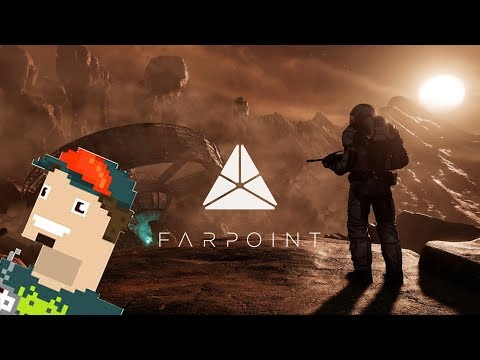 UNBOXING/GAMEPLAY Farpoint || PlayStation VR!!