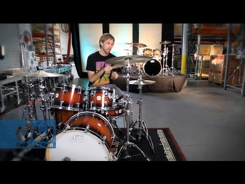 video DW Design Series 5-piece Shell Pack – Cherry Stain