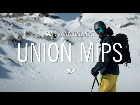 Giro Union MIPS Mens Ski Helmet in Matte Turbulence Stonewashed