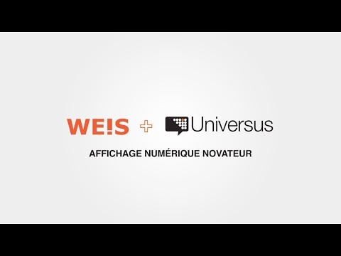 Vidéo : Universus et Weis annonce une alliance stratégique pour l'intégration du numérique dans les concessions