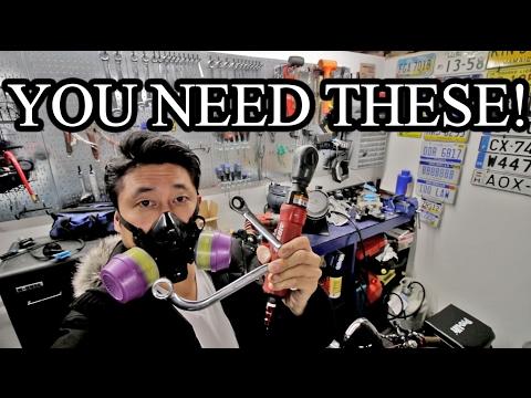 My FAVOURITE tools!! Motorhead Garage Tour (Tools and Equipment) - Vlog 54