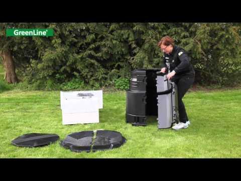 Montering av kompost GreenLine Master