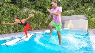 WALK ON WATER AND WIN $10,000 (Carter vs Liz)