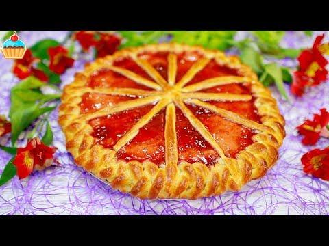 БАБУШКИН ПИРОГ С ВАРЕНЬЕМ - ну, оОчень вкусный! Рецепт сладкого пирога.