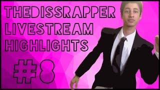 DISSGOD GETS EXPOSED?! | TheDissRapper Live Stream Highlights #8