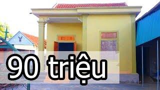 Tham quan nhà cấp 4 giá rẻ nhà đẹp giá chỉ 90 triệu ( 4500$)