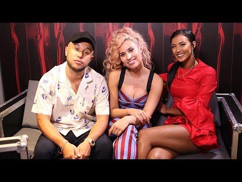Jax Jones & Raye Interview with Maya Jama   BRITs 2018
