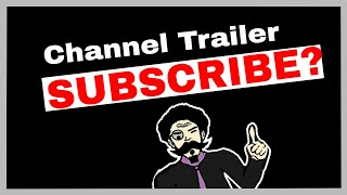Black Screen Education channel trailer oct 2017