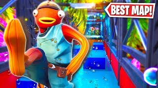 The Best Parkour Map in Fortnite! (Fortnite Creative Mode)