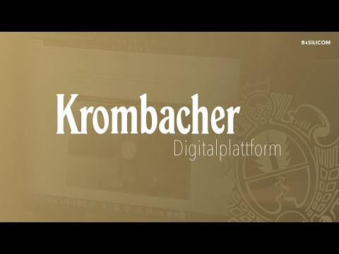 Krombacher Digitalplattform: Ein Multi-Brand-Website-System