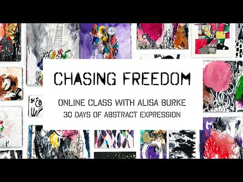 NEW online class! chasing freedom