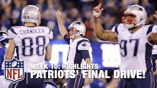 Patriots Game-Winning Drive (Week 10) | Patriots vs. Giants | NFL