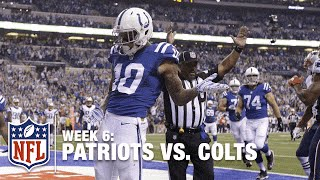 Andrew Luck Completes 4th-Down Pass to Donte Moncrief for a TD! | Patriots vs. Colts | NFL