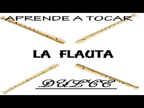Aprende a tocar la flauta dulce. Lección 3: notas Fa (F), Mi (E) y Re (D) CDP
