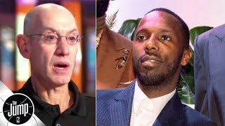 Adam Silver opens up on Rich Paul, player empowerment in the NBA | The Jump