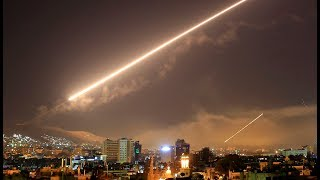 US, Britain, France launch air strikes in Syria