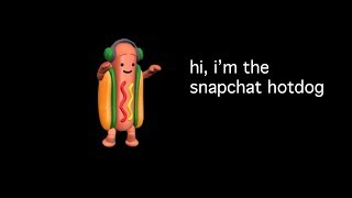 hi, i'm steve but it's infested with the Snapchat Hotdog