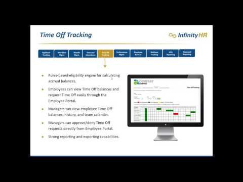 Infinity HR for Sage 300 CRE & Sage 100 Contractor