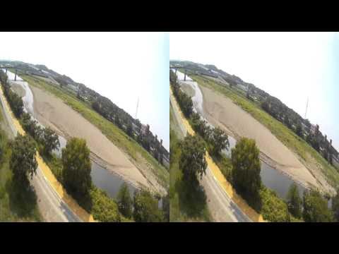 Stereoscopic vision / ATV:JI1JIJ / Flip32+ / ZMR250 / Mobius ActionCam C Lens