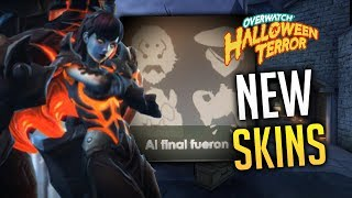 OVERWATCH - LEAKED 2019 Halloween Event Skins?!