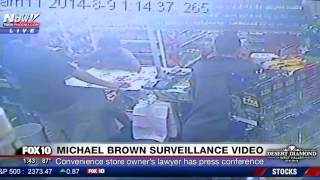 JUST RELEASED: Unedited Surveillance Videos of Michael Brown at Ferguson Convenience Store (FNN)