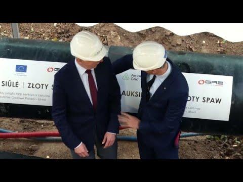 Összekötötték Lengyelország és Litvánia gázvezetékrendszereit.