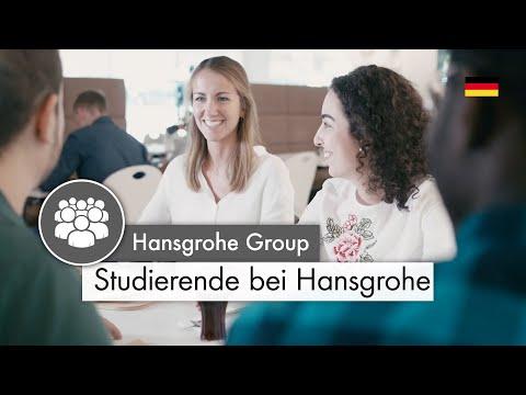 Studenten bei Hansgrohe