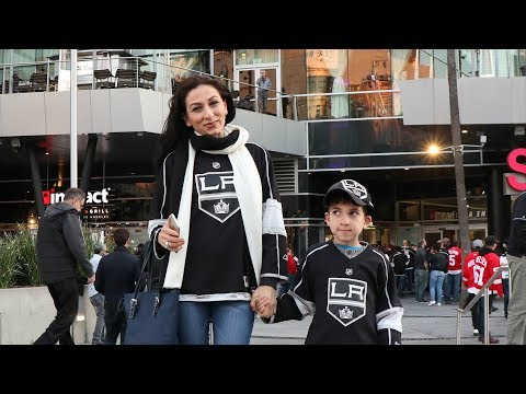 Heghineh Family Vlog #85 - Հոկեյ - Go Kings - Heghineh Cooking Show in Armenian
