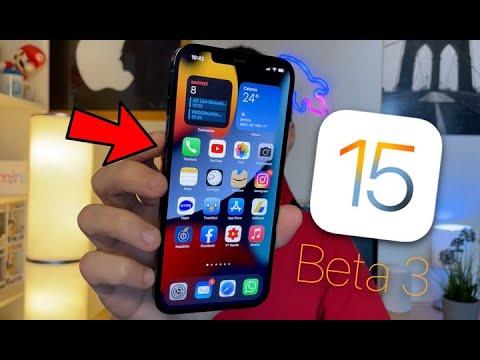 Ecco TUTTE le NOVITÀ di iOS 15 Beta 3