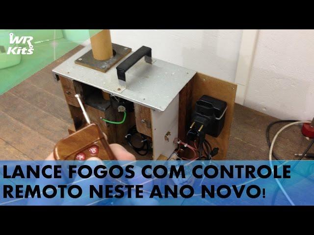 LANCE FOGOS DE ARTIFÍCIO POR CONTROLE REMOTO! #solteFogosComSegurança
