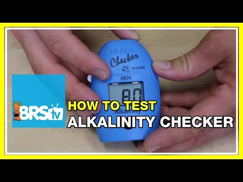How to test with the Hanna Alkalinity dKH Checker | BRStv How-To
