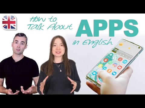 How to Talk About Apps in English - Spoken English Lesson