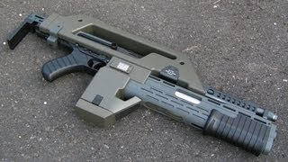 Aliens M41A Pulse Rifle Review (Snow Wolf)