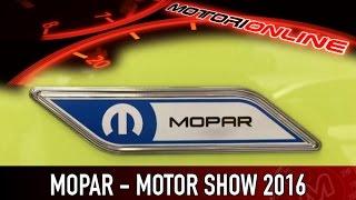 Mopar al Motor Show 2016 | Intervista a Santo Ficili