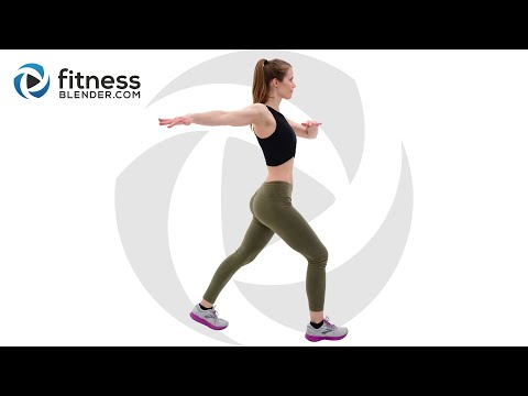 Bodyweight Cardio Workout for Fat Burn and Energy Boost - Total Body Cardio Interval Workout