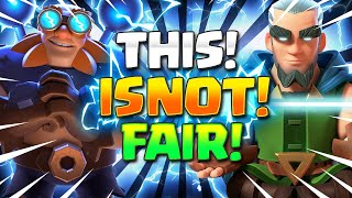 STEAMROLL EVERYTHING!! Brand New Electro Giant Deck in Clash Royale!!