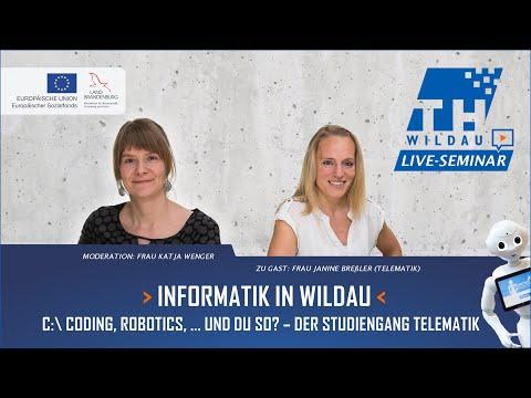 Informatik in Wildau – C:\Coding, robotics, ... und du so? Der Studiengang Telematik.