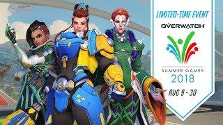 Overwatch opens Summer Games 2018