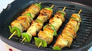Delicious Grill Sticks - Grilled Chicken Recipe - Chicken Recipes For Beginners