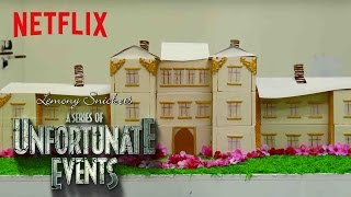 A Series of Unfortunate Events | Netflix Kitchen: Baudelaire's Flaming Mansion | Netflix