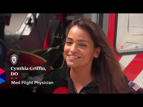Historic Day for UW Health's Med Flight