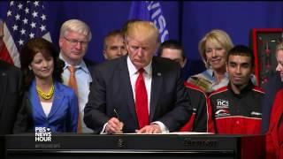Trump signs order on high-skilled worker H1B visas; Views ..
