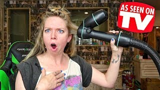 Reverse Hair Dryer?!- Does This Thing Really Work?