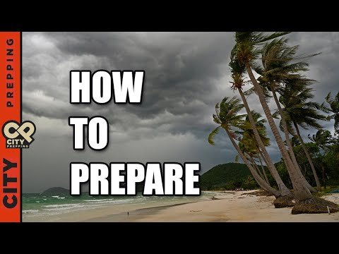How to Survive A Hurricane or Severe Storm