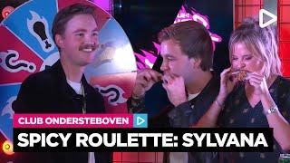 Bram stelt hete vragen aan Sylvana | SLAM! Spicy Roulette