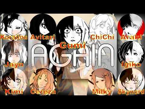 【合唱】AGAIN (CrusherP)【10人 +1α English Chorus Cover】