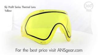 Линза Sly Profit Yellow Thermal