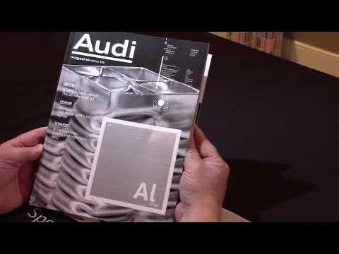 Audi Magazine : BEST Offset silver ink